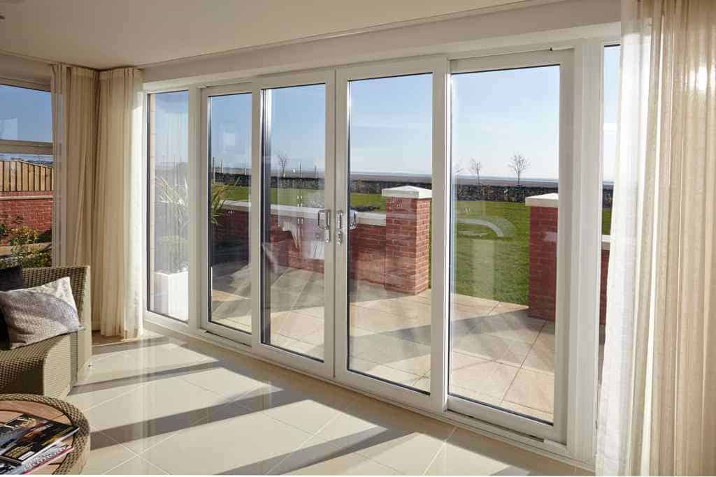 Aluminium sliding patio doors newlite for Glass patio doors