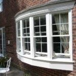 picture of PVCu sash window.